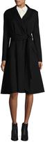 Carolina Herrera Women's Full Skirt Wool Coat