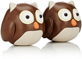 Zuny Cici The Owl Bookends-BROWN