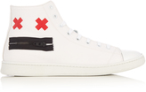 Marc Jacobs Zip Face high-top canvas trainers