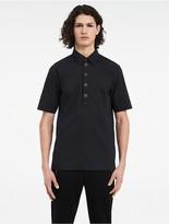 Calvin Klein Platinum Fine Stretch Poplin Short Sleeve Shirt