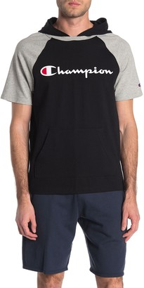 Champion Middleweight Logo Short Sleeve Hooded T-Shirt