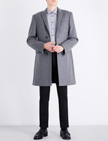 Armani Collezioni Academy-fit wool and cashmere-blend coat