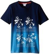 Little Marc Jacobs Jersey Tee Shirt Dip Dye (Little Kids/Big Kids)