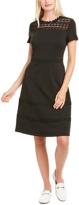 Karl Lagerfeld Paris Ponte A-Line Dress
