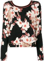 Twin-Set floral pattern jumper