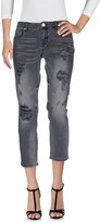 Silvian Heach Denim pants - Item 42529615