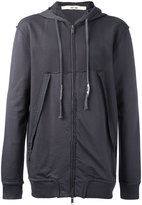 Damir Doma oversized pockets zipped hoodie - men - Cotton - S