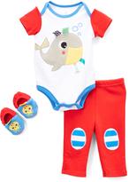 Taggies Blue Whale Bodysuit & Pants Set - Infant