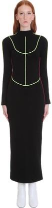 Kirin Dress In Black Cotton