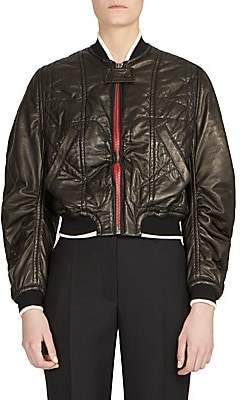 Haider Ackermann Women's Leather Bomber Jacket