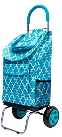 Outstanding Dbest Products Dbest Folding Trolley Dolly Blue Moroccan Tile Pdpeps Interior Chair Design Pdpepsorg
