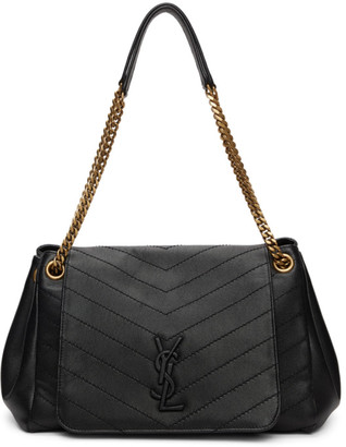 Saint Laurent Black Medium Nolita Bag