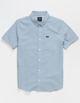 RVCA That'll Do Stretch Boys Baby Blue Shirt