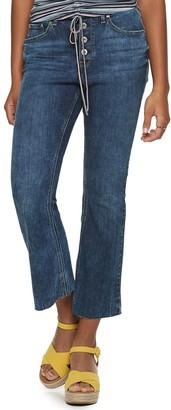 American Rag Juniors' High-Rise Flare Jeans