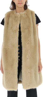 Stella McCartney Dover Faux Fur Vest