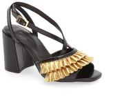 Topshop &Rosha& Frill Toe Sandal (Women)