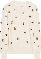 3.1 Phillip Lim Embellished wool sweater