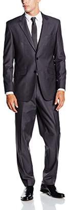 BlueBlack Men's Slim Fit Suit Rovigo,38 Regular