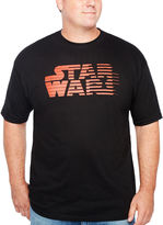 Star Wars Short Sleeve Graphic T-Shirt-Big and Tall