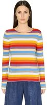 Chloé Striped Cotton Jersey T-Shirt
