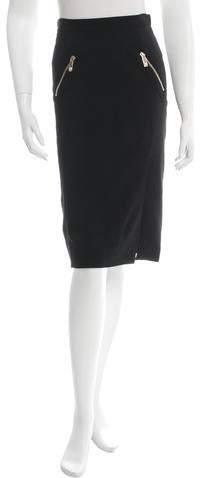 Versace Knee-Length Pencil Skirt w/ Tags