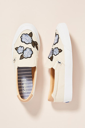 Keds Applique Slip-On Sneakers By in Beige Size 9.5
