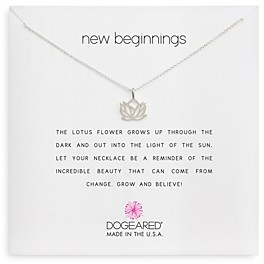 Dogeared New Beginnings Pendant Necklace, 18
