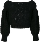 Valentino knit cropped jumper