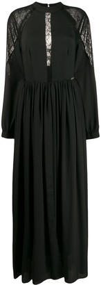 John Richmond Marfao pleated long dress
