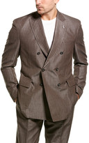 Michael Bastian 2Pc Suit With Flat Pant