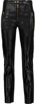Isabel Marant Arnold Leather Skinny-Leg Pants