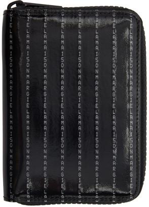 Maison Margiela Black Zip Around Wallet