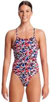 Funkita Girls Commonwealth Games Smashing Strapped In One Piece