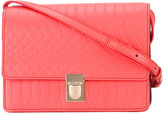 Paul Smith geometric detail shoulder bag - women - Leather - One Size