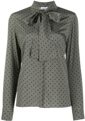 P.A.R.O.S.H. Pussy-Bow Dotted Blouse