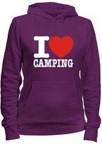 Idakoos I love Camping - Hobbies - Women Hoodie