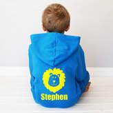 Sparks Clothing Personalised Kids Lion Onesie