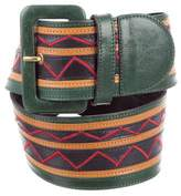 Missoni Leather Waist Belt