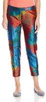 Anne Klein Women's Opal Jacquard Printed Pants