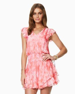 Ramy Brook Tie Dye Printed Simone Dress