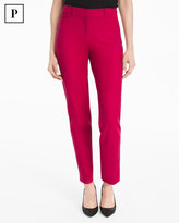 White House Black Market Petite Body-Defining Ankle-Grazing Pants
