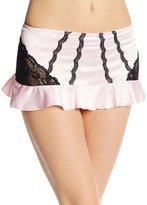 Jezebel Promise Skirt L/Pink WhiteStripe
