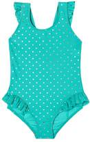 Hula Star Toddler Girl's Twinkle Star One-Piece Swimsuit