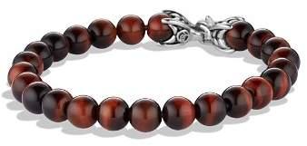 David Yurman Spiritual Beads Bracelet with Red Tiger's Eye, 8mm