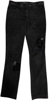 Chanel Grey Cotton - elasthane Jeans
