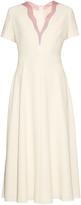 Roksanda Behn contrast V-neck dress