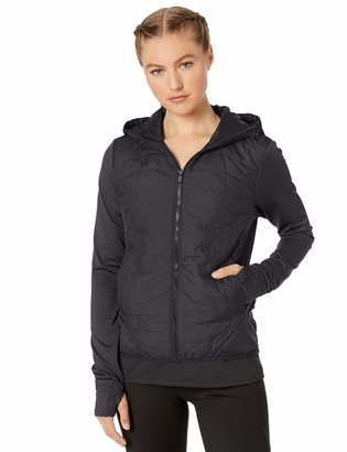 Core 10 Lightweight Insulated Thermal Hoodie Run Jacket Black XL (16)