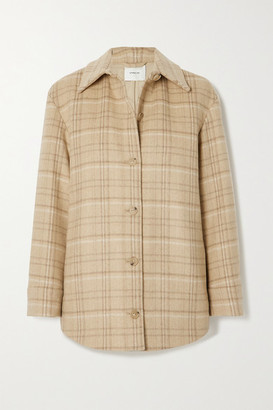 Vince Checked Wool-blend Jacket