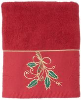 Lenox Ribbon & Holly Bath Towel