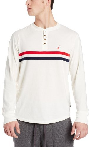 Nautica Men's Long Sleeve Henley
